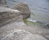 Coastal rock formations Stock Image