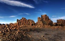 Coastal rock formations Stock Photography