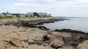 Free Coastal Rock Formations At Cape Neddick Point, York, ME, USA Royalty Free Stock Image - 192835496