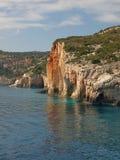 Coastal rock. Stock Photos