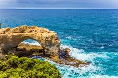 Ocean waves crash down Stock Photography