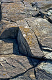 Coastal rocks of Maine Stock Photos