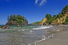 Coastal Rocks on a Sunny Day stock photos