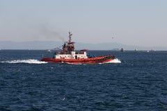 Coastal Safety Boat Royalty Free Stock Photo