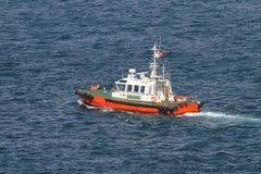 Coastal Safety Boat Stock Images