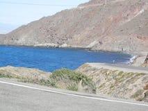 View at Cabo del Gata. Coastal scene at Cabo del Gata in Almeria province, Spain Royalty Free Stock Images