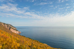 Coastal Scene on the Cabot Trail Royalty Free Stock Photography