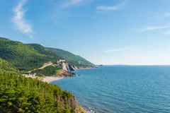 Coastal Scene on the Cabot Trail Stock Images