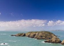Coastal scene  Channel Islands Royalty Free Stock Image
