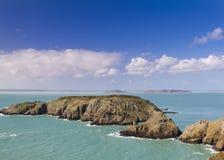 Coastal scene  Channel Islands Stock Images