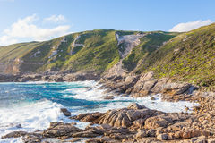 Free Coastal Scene In Torndirrup National Park Royalty Free Stock Photography - 81682587