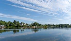 Coastal scene of Maine Royalty Free Stock Image