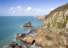 Coastal scene on Sark Stock Photos