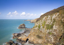 Coastal scene on Sark Stock Photography