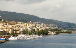 Coastal scene from Sicily Stock Photos