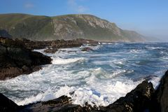 Coastal Scene in South Africa Royalty Free Stock Photo