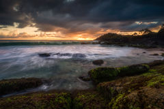 Coastal scene Royalty Free Stock Image