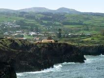Coastal scenery at the Azores Stock Photography