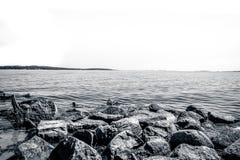 Coastal scenery Royalty Free Stock Photo