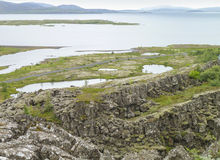 Coastal scenery in Iceland Stock Images
