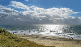Coastal scenery in the Netherlands Stock Images