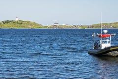 Coastal scenic in Newfoundland Royalty Free Stock Photos