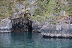 Coastal sea cave Stock Photo