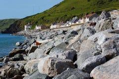 Coastal Sea Defences Royalty Free Stock Image