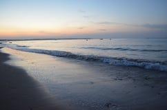 Coastal sea wave Royalty Free Stock Images