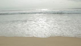 The coastal sea wave stock video footage