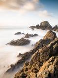 Coastal seascape in Galicia, Spain Royalty Free Stock Photo