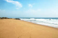 Coastal Seascape on South African North Coast Stock Photos