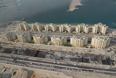 A Coastal Settlement In Dubai royalty free stock images