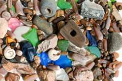 Coastal shingle Stock Photography