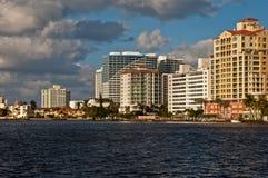 Coastal skyline Royalty Free Stock Images