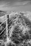 Coastal snow scene Stock Photos