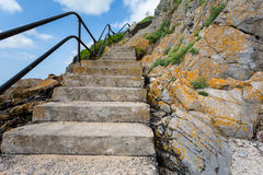 Coastal Steps Royalty Free Stock Images