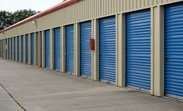 Coastal Storage Units Stock Photography