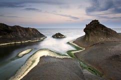 Coastal sunrise Royalty Free Stock Images