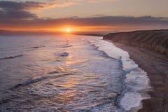 Coastal Sunrise Stock Photos