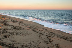 Coastal sunrise in Cape Cod Stock Image