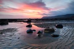 Beautiful Coastal Sunrise royalty free stock photo