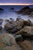 Coastal Sunset Royalty Free Stock Photos
