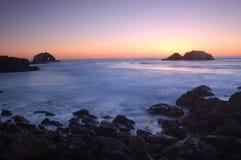 Coastal Sunset Royalty Free Stock Photography