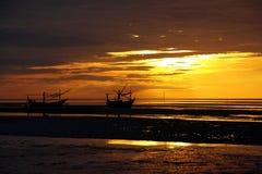 Coastal of Thailand at sunrise. Stock Image