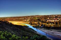 Coastal town Stock Images