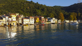 Coastal Town. Anadolu Kavagi Village in Turkey Stock Images