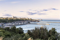 Coastal town of Cancale Royalty Free Stock Image
