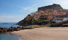 Coastal town Castelsardo royalty free stock images
