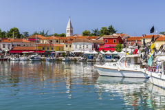 A coastal town in Croatia - Novigrad royalty free stock images